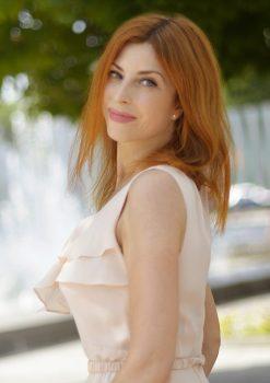 Rencontre avec Marina, photo de belles femmes ukrainiennes, femme russe etukrainienne de l'agencematrimonialeAu Cœur de l'Est