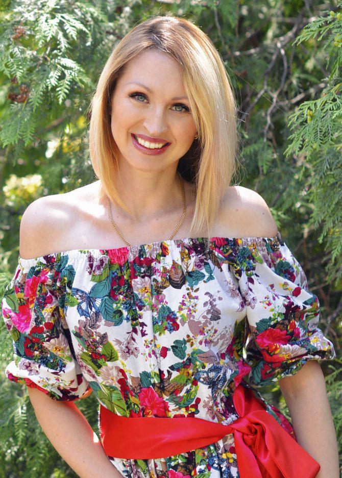 Rencontre avec Oksana, photo de belle femme russe