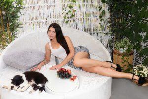 Rencontre avec Kristina, photo de belle femme ukrainienne