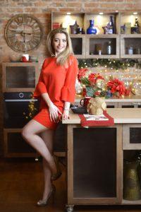Rencontre avec Karina, photo de belle femme ukrainienne