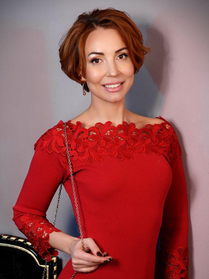 Rencontre avec Nataliya, photo de belle femme ukrainienne